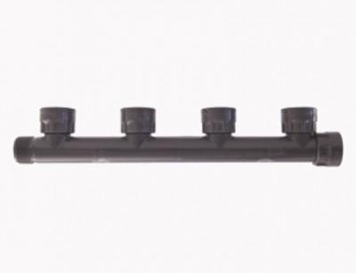مانیفلد یک اینچ چهار خروجی PVC ساخت رین ایتالیا