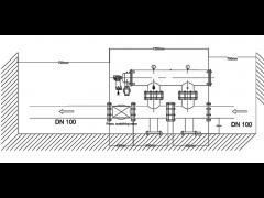 فیلتر 4 اینچ اسکرین خود شوینده تمام اتوماتیک مدل VTOS O 100/11