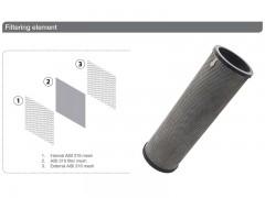 فیلتر 6 اینچ اسکرین خود شوینده تمام اتوماتیک مدل VTOS O 150/35