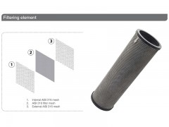 فیلتر 8 اینچ اسکرین خود شوینده تمام اتوماتیک مدل VTO O 200/50