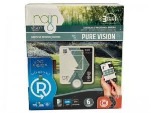 کنترلر آبیاری 6 ایستگاهه مدل pure vision ساخت رین ایتالیا