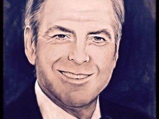 تابلوی نقاشی جرج کلونی