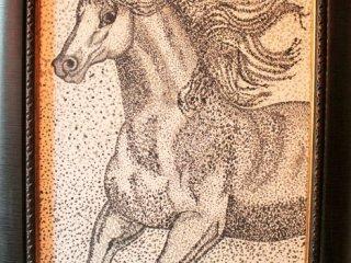 تابلوی نقاشی اسب