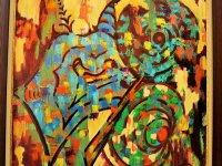 تابلو نقاشی به سبک رنگ روغن