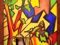 تابلوی نقاشی به سبک رنگ روغن