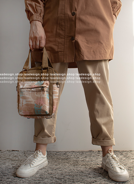 کیف دوشی 3کاره دخترانه مدل بورانو 4-6002