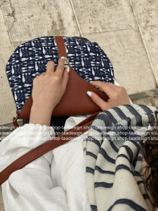 ست کیف دوشی نیم گرد گلگلی-کد139