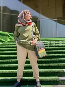 کوله پشتی 2کاره  چرم دانشجویی