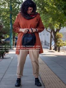 کیف دوشی3کاره چرمی دخترانه مشکی