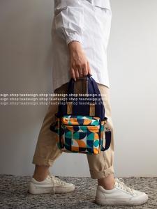 کیف دوشی 3کاره دخترانه مدل بورانو 17-6002