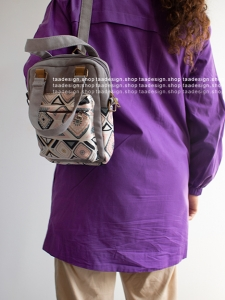 کیف دوشی 3کاره دخترانه مدل بورانو 3-6002