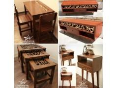 سفارش محصولات : انواع میز، کنسول آباژور، استیکر و سایر محصولات سفارشی