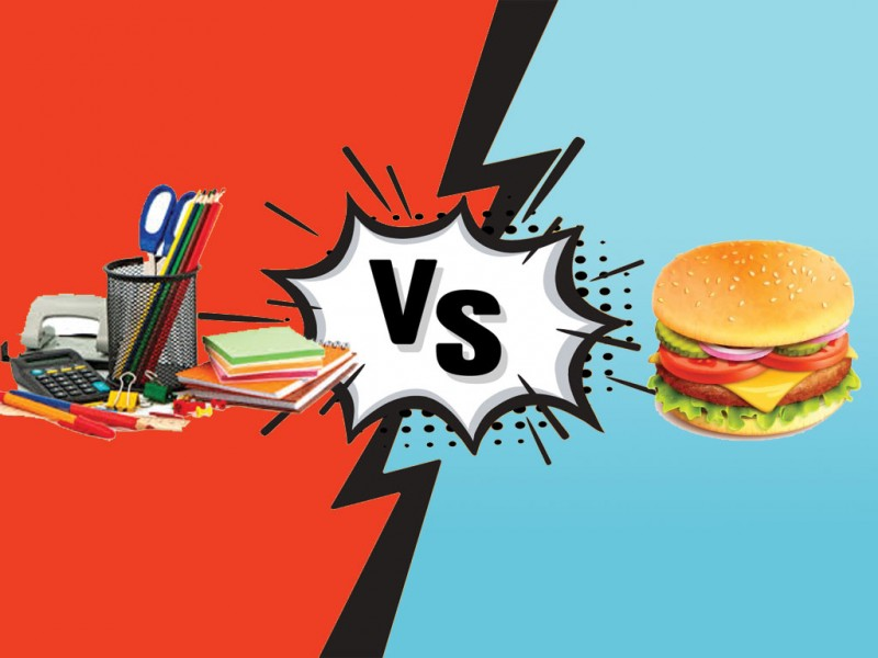 داستان خرید لوازم تحریر یا ساندویچ کدام بصرفه است ؟