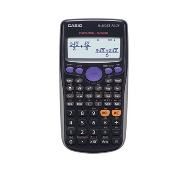 ماشین حساب casio fx-350 es plus