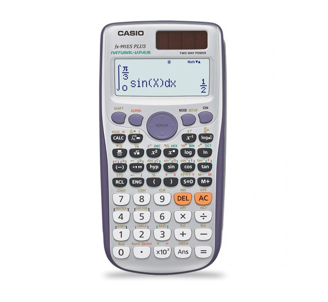 ماشین حساب مهندسی casio fx-991es plus