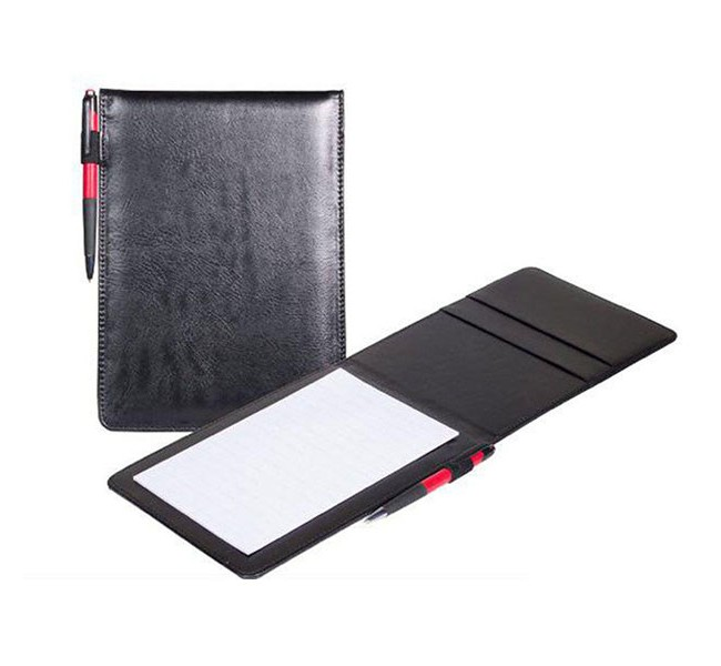 دفتر یادداشت چرمی سایز 9.5*14 سانتیمتر کد 208