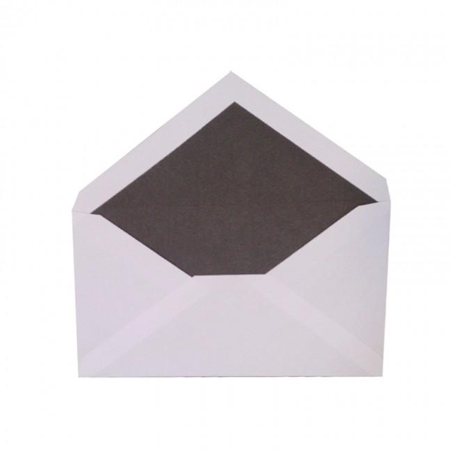 پاکت پستی محرمانه داخل مشکی سایز 13*17 سانتیمتر