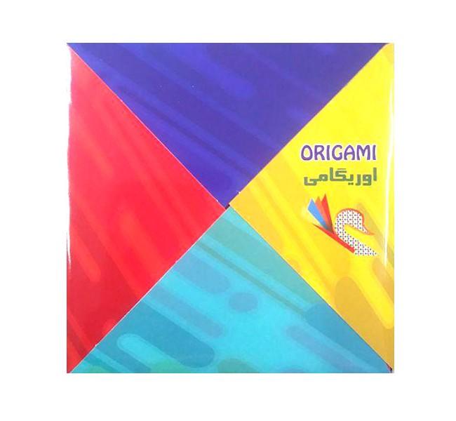 کاغذ 10 رنگ اریگامی 50 برگی