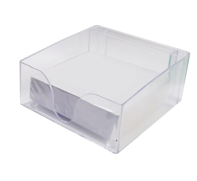 جای کاغذ یادداشت شفاف همراه با یک بسته کاغذ یادداشت