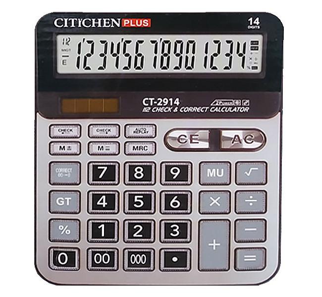 ماشین حساب 14 رقم  CT-2914 پلاس
