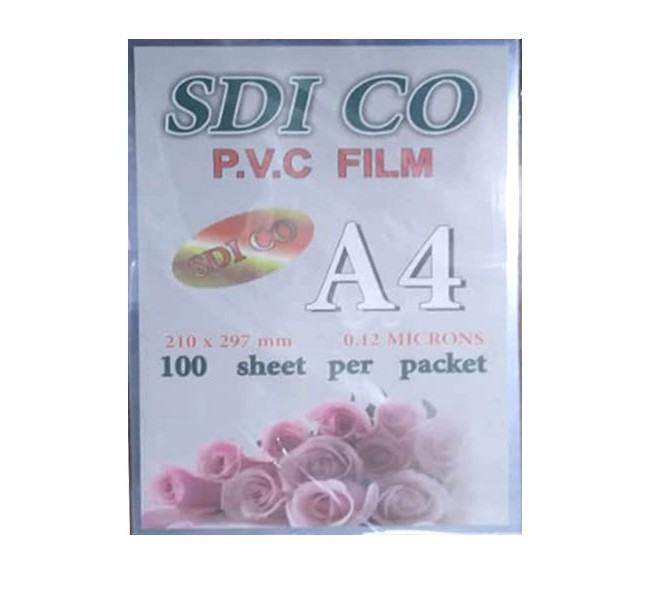طلق SDI سایز  A4 بسته 100 عددی