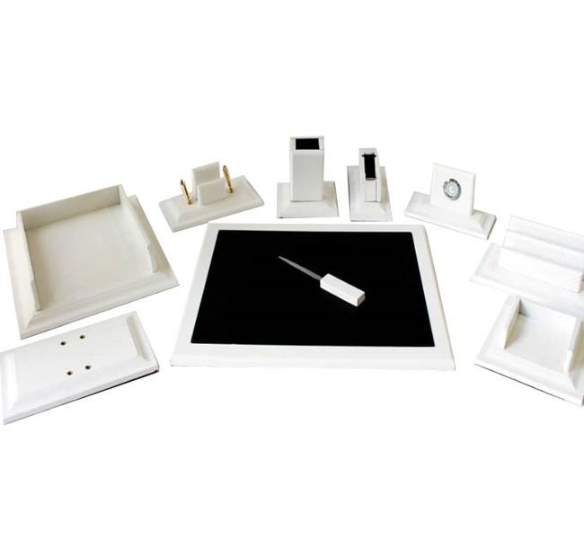 ست رومیزی 10 تکه مدل K200 سفید