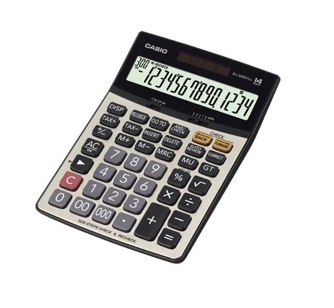 ماشین حساب کاسیو مدل DJ-240D Plus
