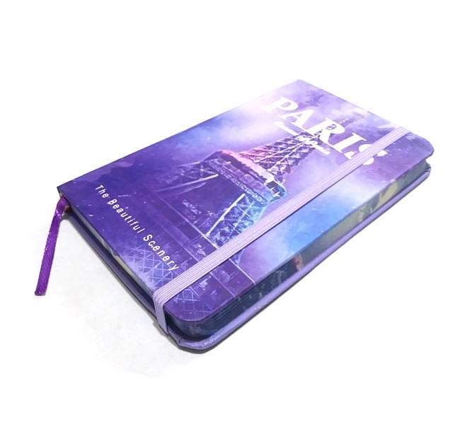 دفتر یادداشت کش دار 100 برگ طرح کلاسیک