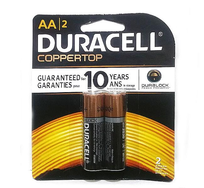 باتری قلمی  آلکالاین دوراسل بسته 2 عددی