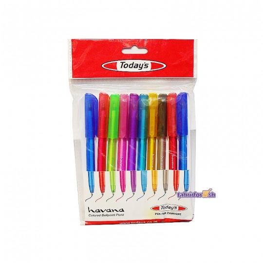 خودکار رنگی todays
