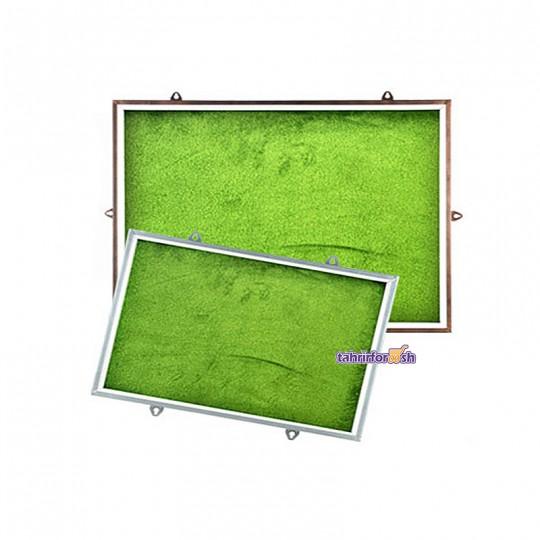 تابلوی اعلانات شیشه خور 100x200