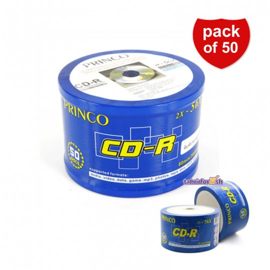 CD Princo بسته 50 عددی