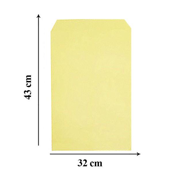 پاکت A3 زرد خارجی سایز 43×32 سانتیمتر