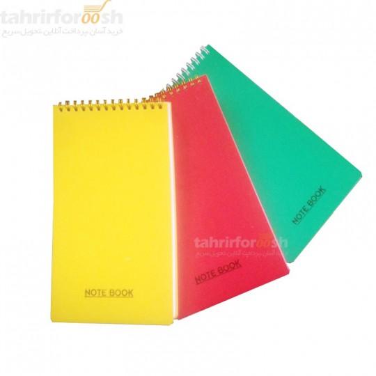 دفتر یادداشت مهندسی جلد طلقی کد 704