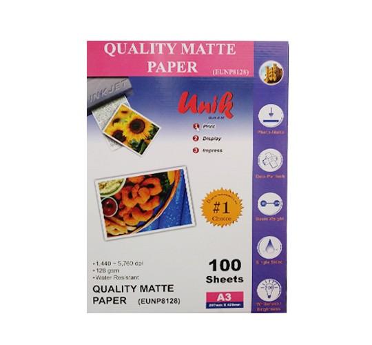 کاغذ کوتد 128 گرم A3