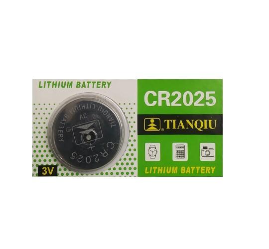 باتری سکه ای کد CR-2025 بسته 5 عددی