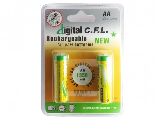 باطری شارژی قلمی CFL-1350mah