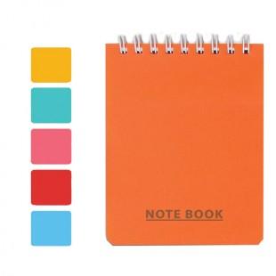 دفتر یادداشت سیمی بالا باز شو کد 702