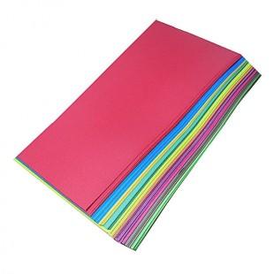 مقوا 10 رنگ دو رو مات 70×50 سانتیمتر
