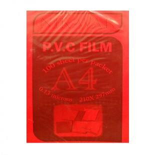 طلق A4 قرمز بسته 100 عددی
