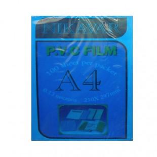 طلق A4 آبی بسته 100 عددی