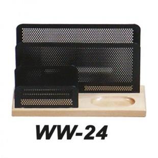 جای پاکت نامه چوب فلز مدل WW-24