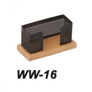 جای کارت ویزیت چوب فلز مدل WW-16