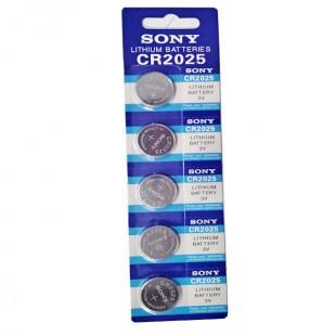 باتری سکه ای  CR 2025 بسته 5 عددی