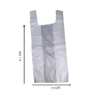 کیسه پلاستیکی دسته رکابی سایز متوسط