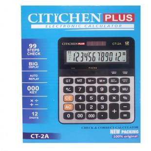 ماشین حساب 12 رقم  CT-2A پلاس