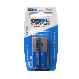 باتری نیم قلم اوسل بسته 2 عددی