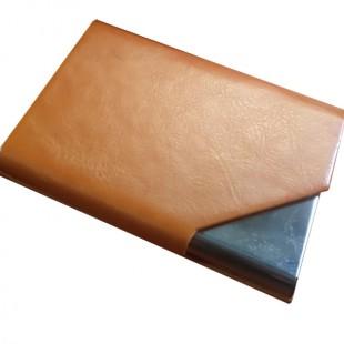 جای کارت ویزیت رنگ عسلی لب کج