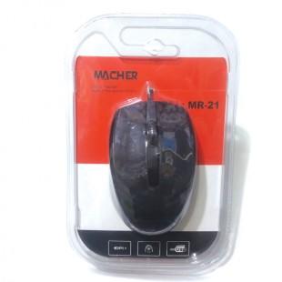 ماوس سیم دار macher مدل  MR-21
