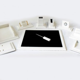 ست رومیزی 9 تکه مدل K200 سفید